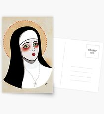Nun Postcards