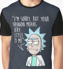 Rick and Morty: Rick Graphic T-Shirt