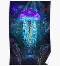 Kosmische Lumineszenz Poster