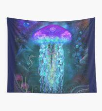 Cosmic Luminescence Wall Tapestry