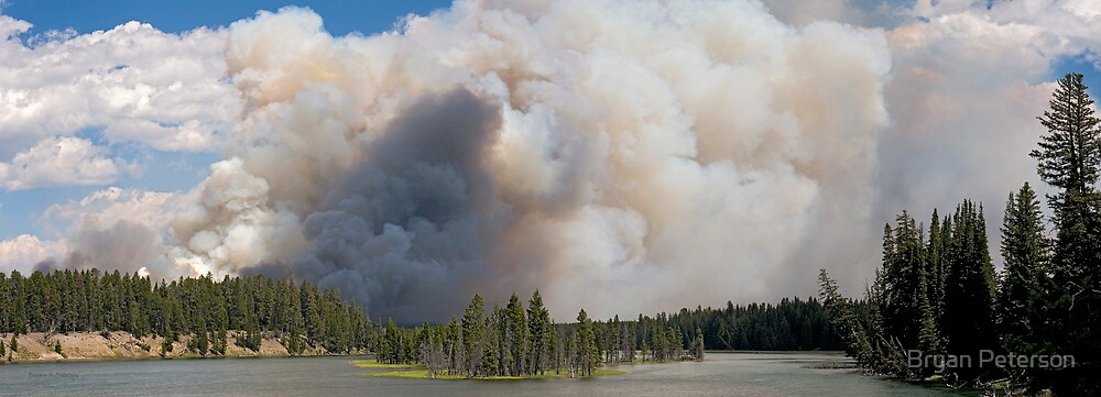 Yellowstone on Fire by Bryan Peterson