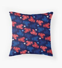 Lobsters Pattern Throw Pillow
