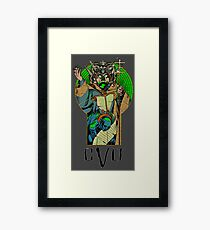 Dungeons, Dragons and Dice • Cult Framed Print