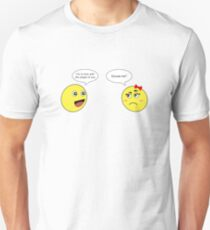 Loving The Shape Of You Funny Emoticone T-Shirt