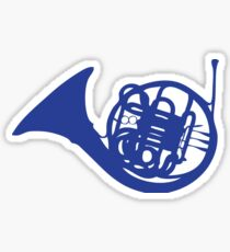 How I Met Your Mother Blue French Horn Sticker
