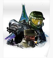 Halo - Heroes Never Die Poster