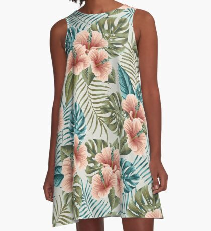 Undiscovered tropics #2 A-Line Dress