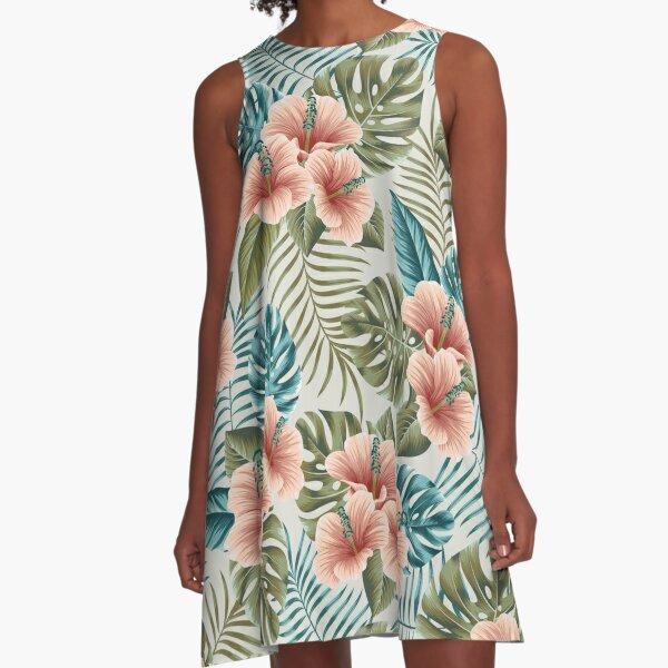 Undiscovered tropics #2 A-Line Dress