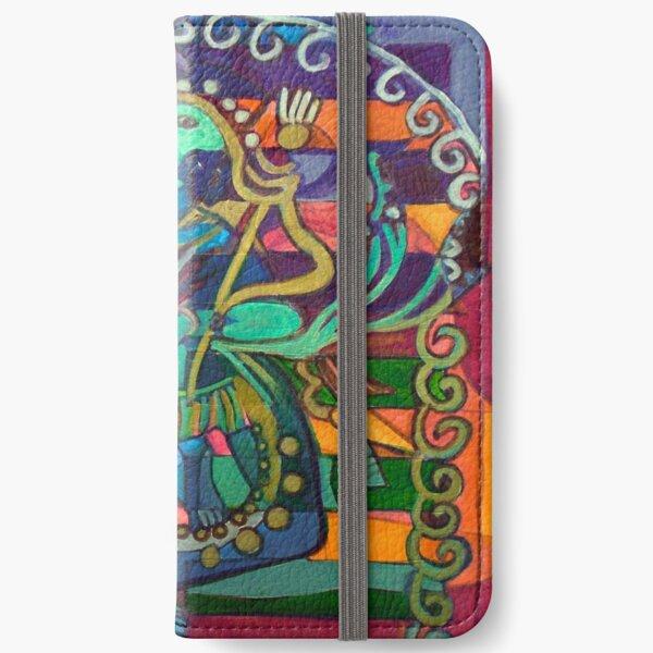 Hexagram 23-Po (Splitting Apart) iPhone Wallet