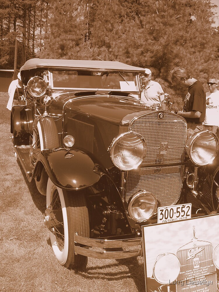 1929  Cadillac...from the glory Days... by Larry Llewellyn