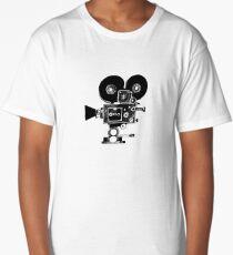 Old Movie Camera vers. 2 Long T-Shirt