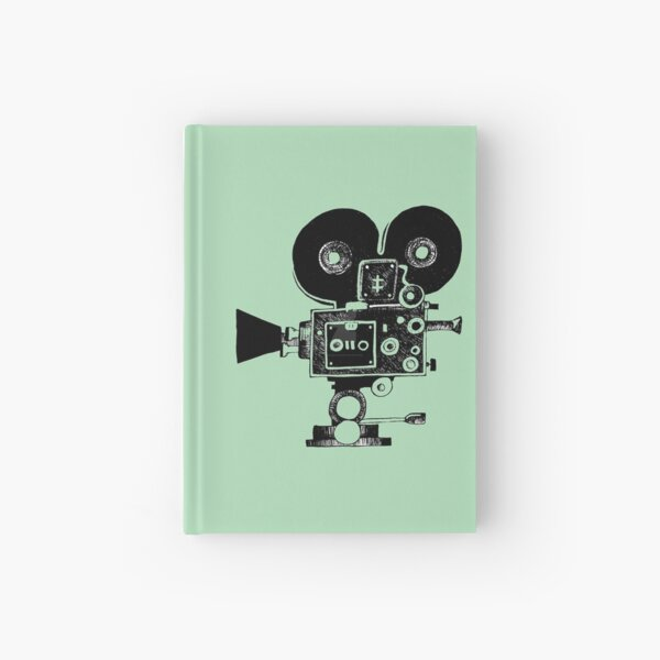 Old Movie Camera vers. 2 Hardcover Journal