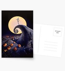 The Nightmare Before Christmas Postcards