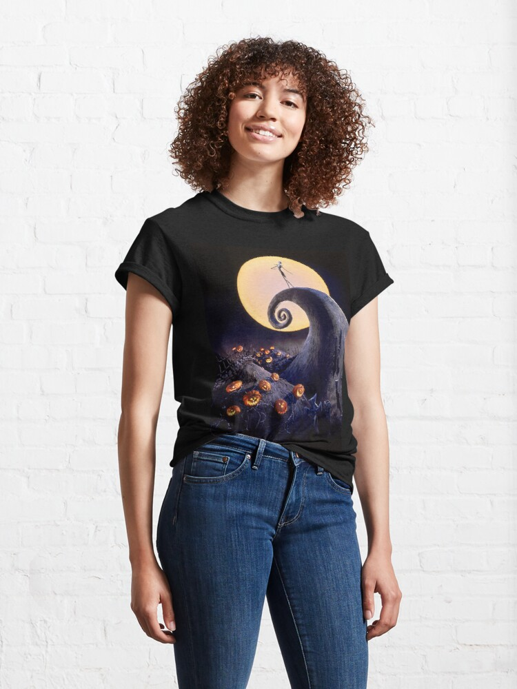Alternate view of The Nightmare Before Christmas Classic T-Shirt