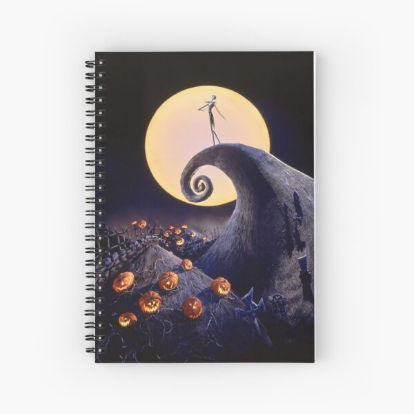The Nightmare Before Christmas Spiral Notebook