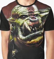 Ork Grunt Stomp Waaagh Graphic T-Shirt