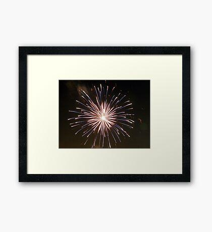 Fireworks #2 Framed Print