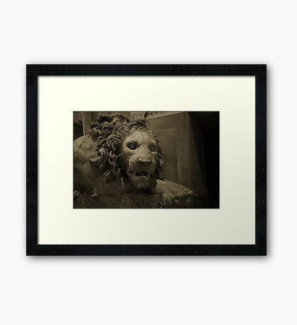 Guardian of the Vatican Framed Print