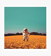 spaceman field Photographic Print
