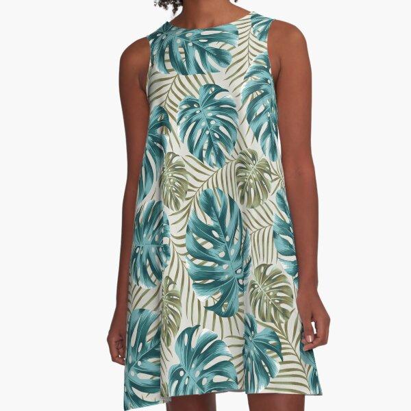 Undiscovered tropics #3 A-Line Dress