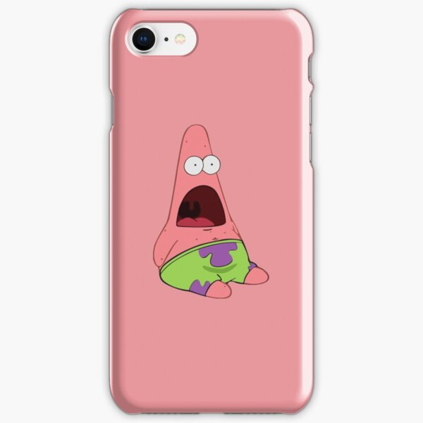 Surprised Patrick iPhone Snap Case