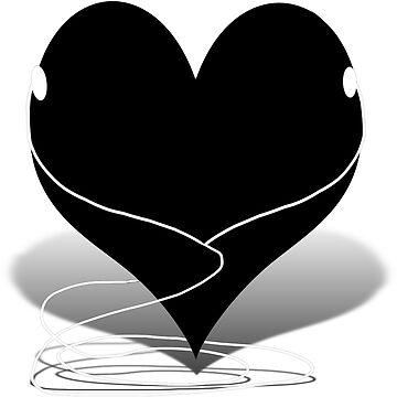 I ♥  ( i heart)  by Gravityx9