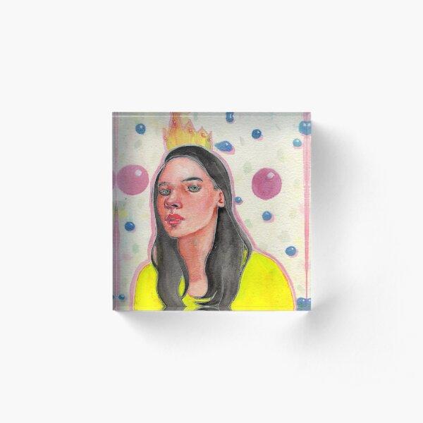 Birthday Acrylic Block