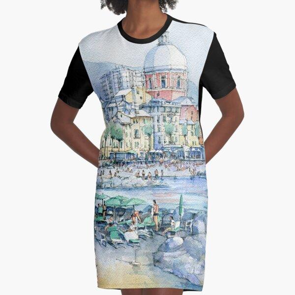 Pegli d'estate Graphic T-Shirt Dress