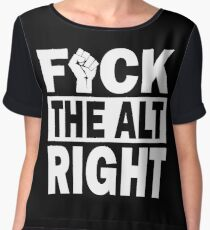 FIGHT THE ALT RIGHT Women's Chiffon Top