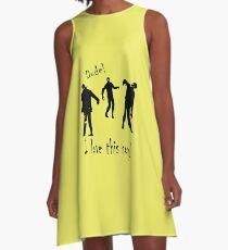 Dancing Zombies  A-Line Dress