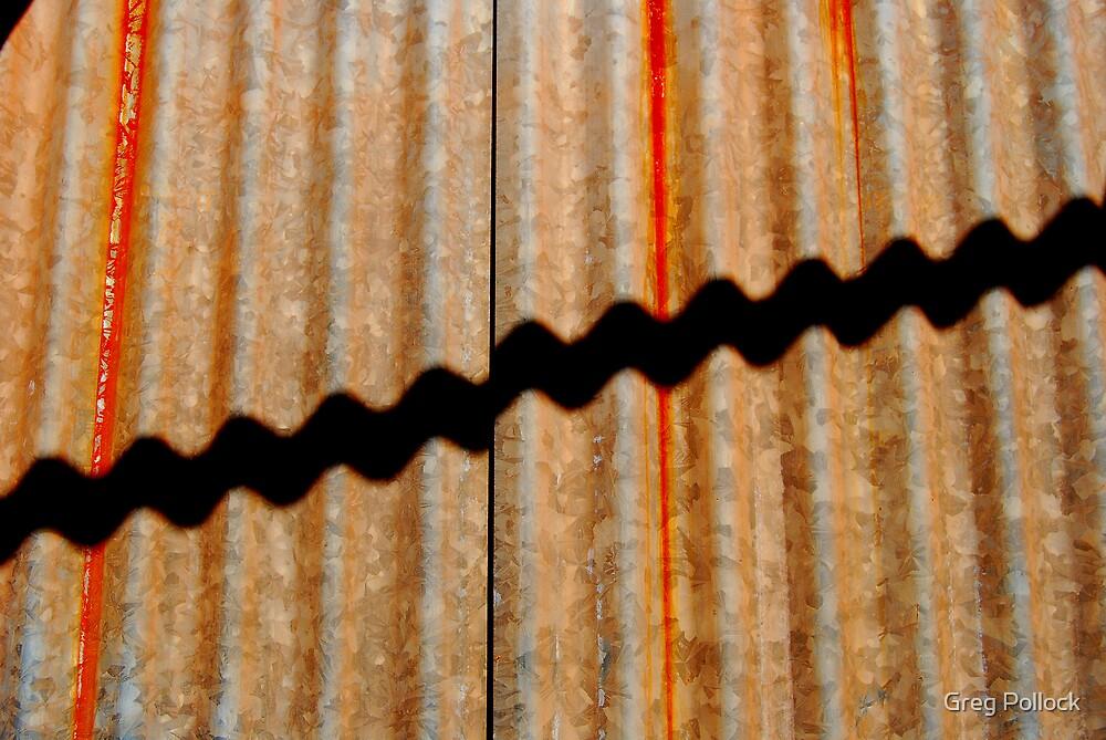 Corrogated Iron by Greg Pollock