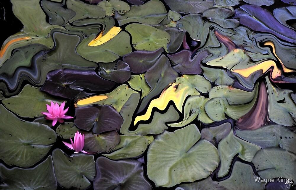 Water Lily Mosaic by Wayne King