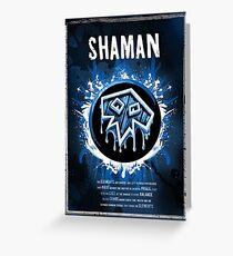 Shaman Greeting Card