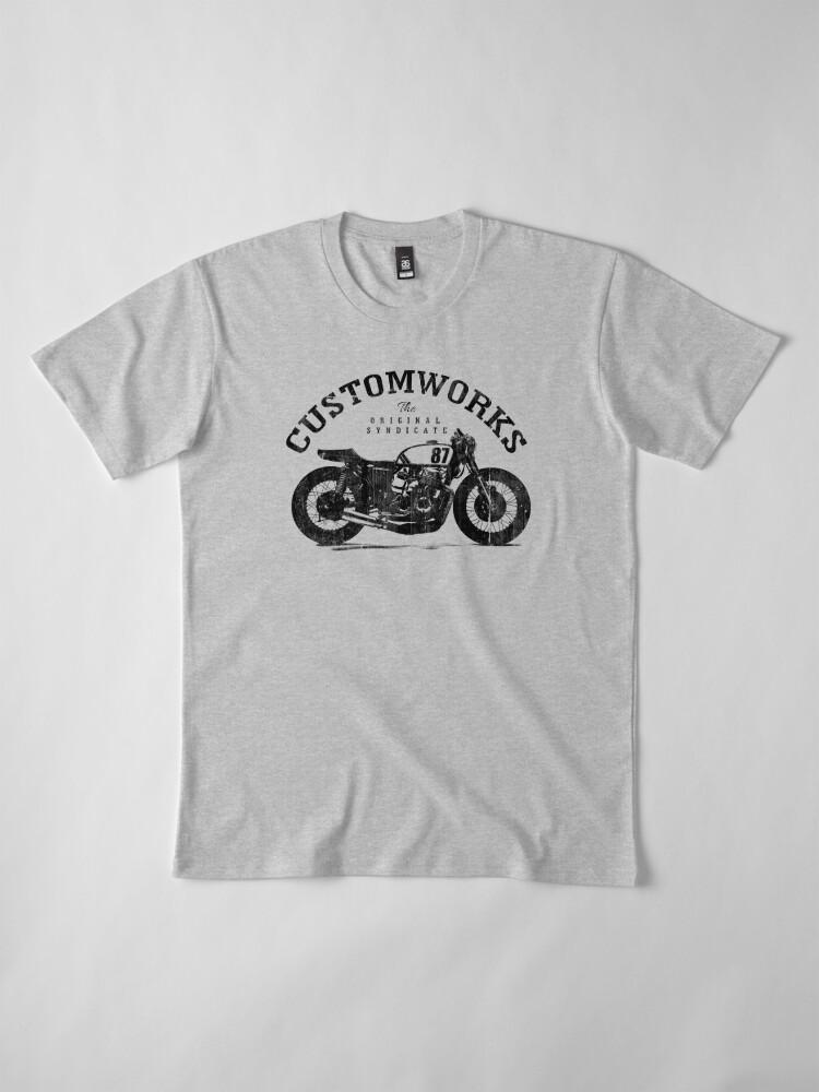 Alternate view of Customworks Premium T-Shirt