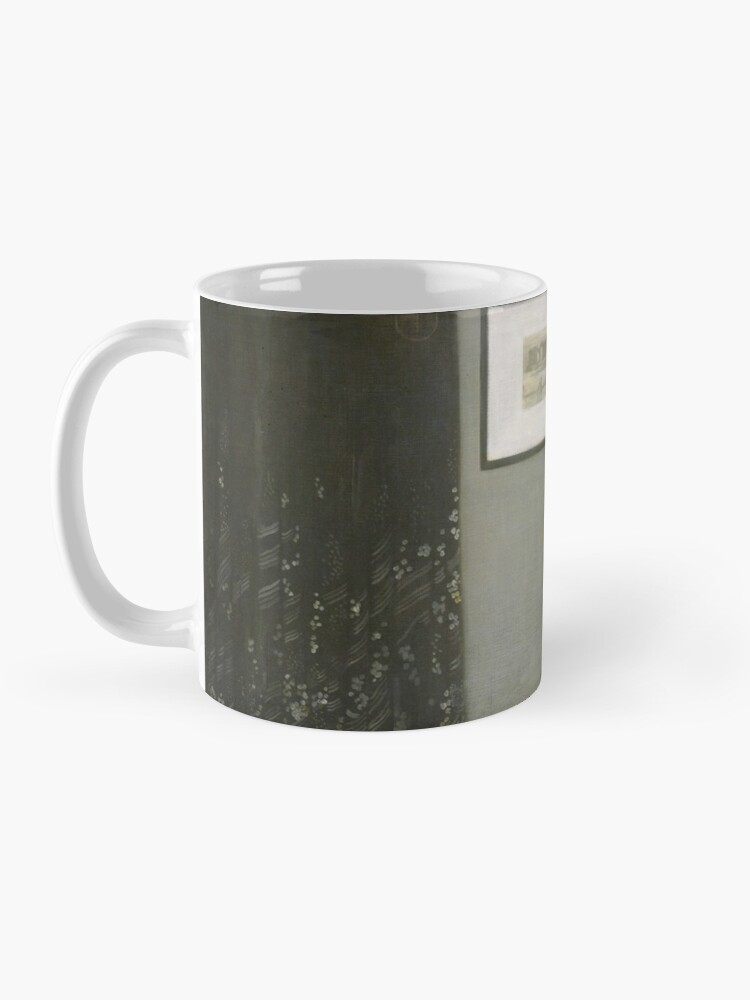 Alternate view of Whistlers Mother Oil Painting by James McNeill Whistler Mug