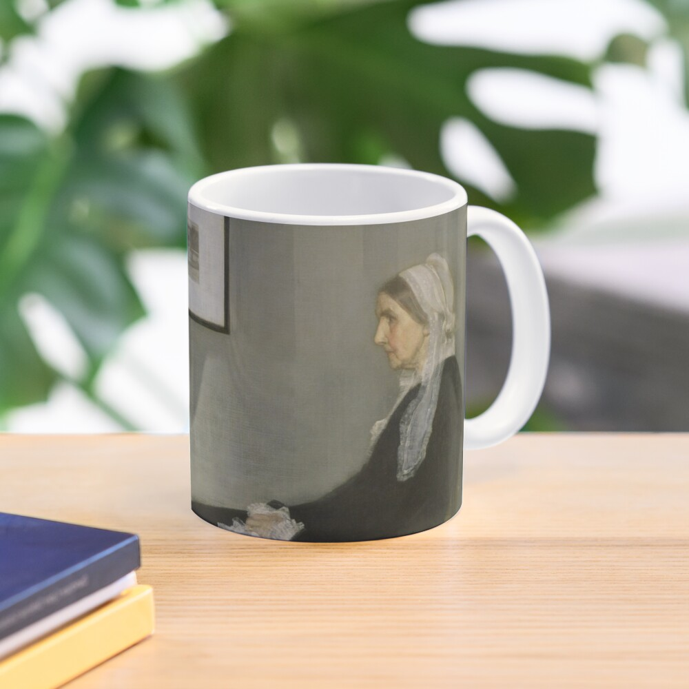 Whistlers Mother Oil Painting by James McNeill Whistler Mug