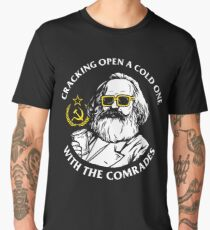 Crack Open A Cold One With The Comrades Men's Premium T-Shirt