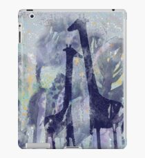 giraffes and trees iPad Case/Skin