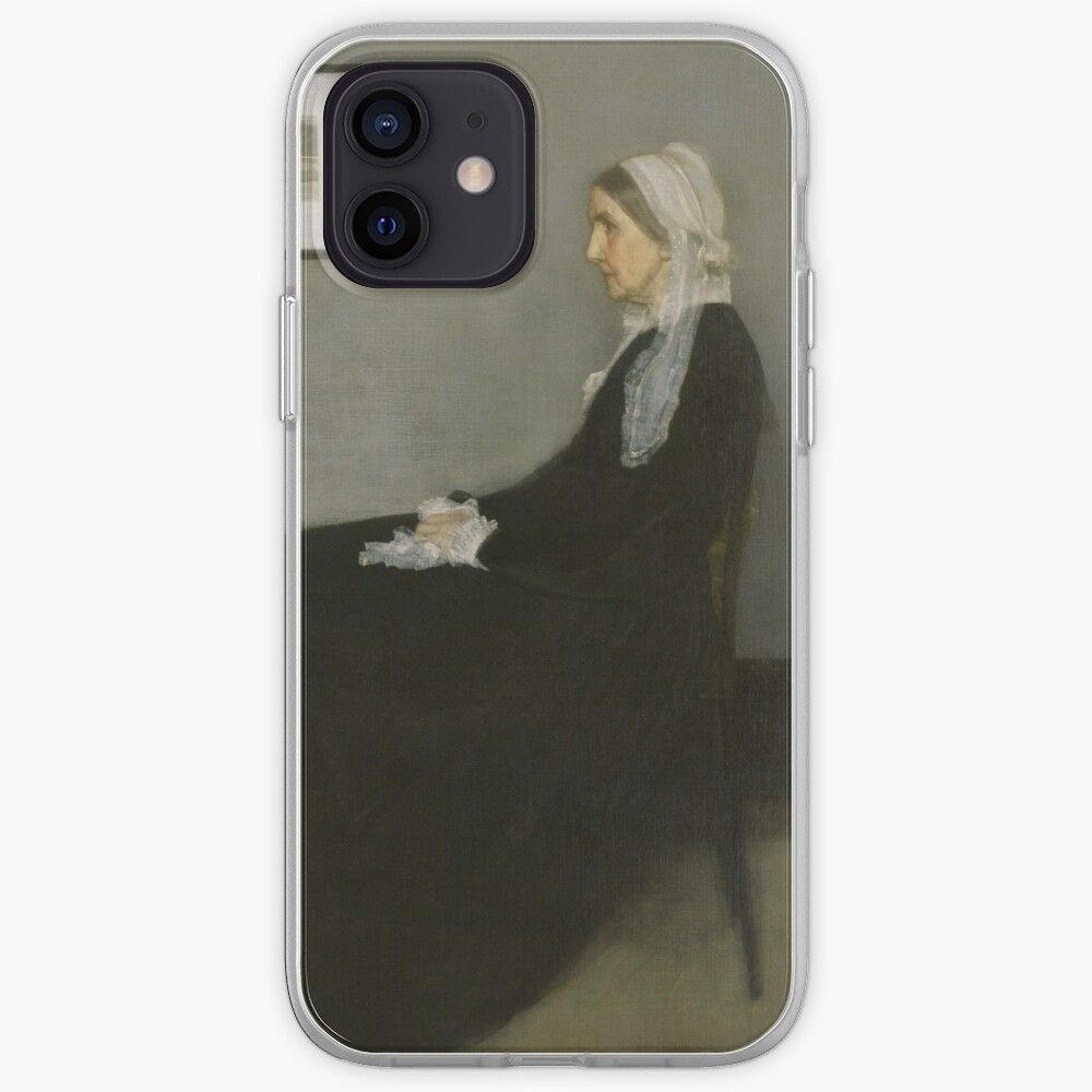 Whistlers Mother Oil Painting by James McNeill Whistler iPhone Case & Cover