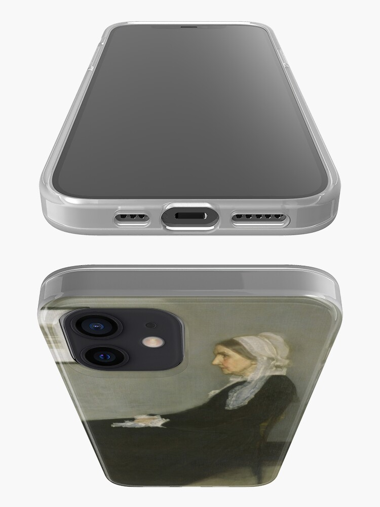 Alternate view of Whistlers Mother Oil Painting by James McNeill Whistler iPhone Case & Cover