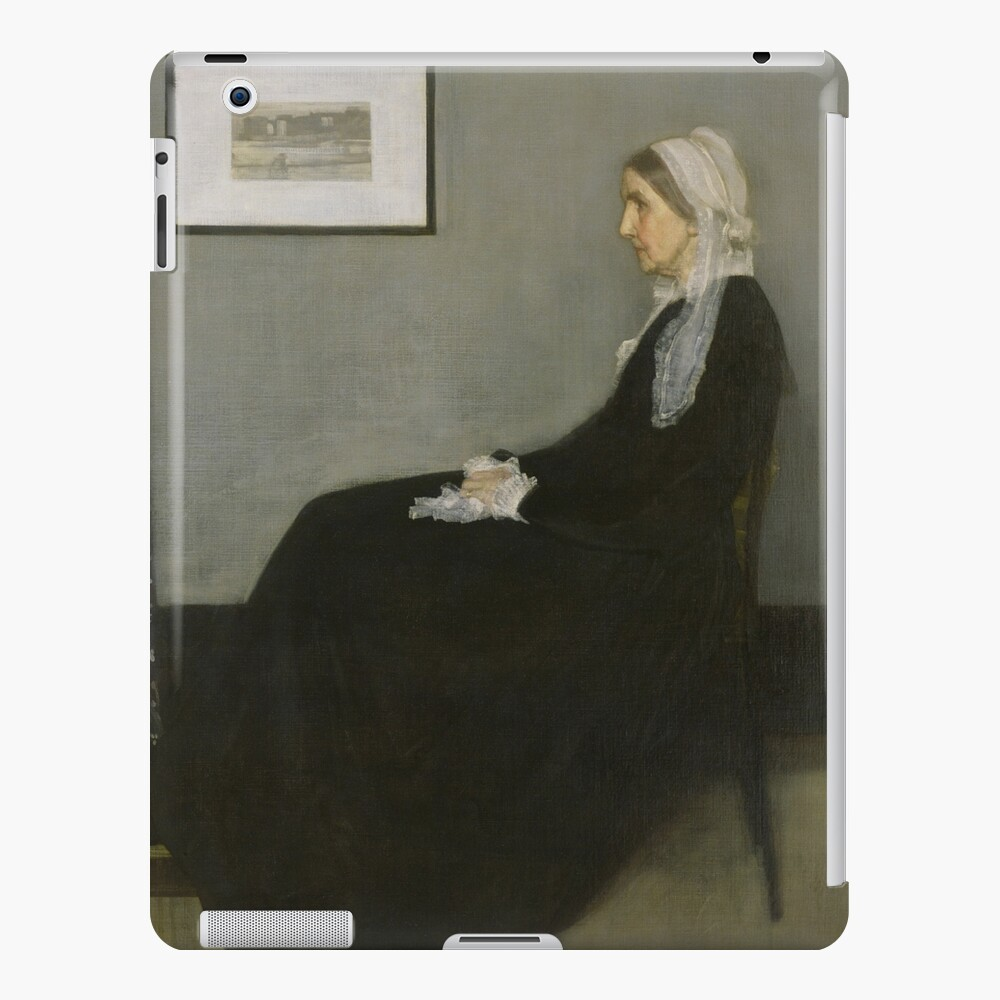 Whistlers Mother Oil Painting by James McNeill Whistler iPad Case & Skin