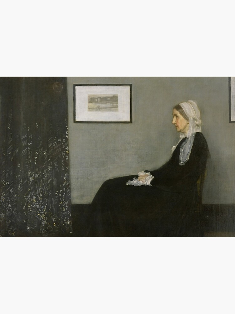 Whistlers Mother Oil Painting by James McNeill Whistler by podartist