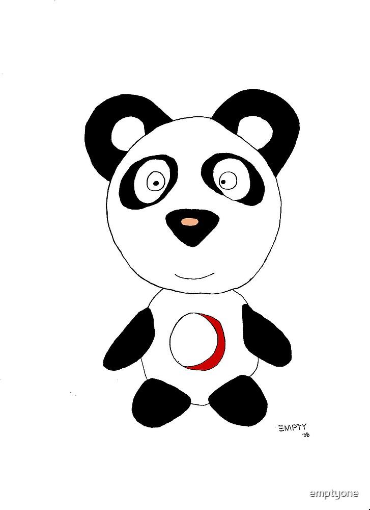 Empty Panda by emptyone