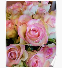 Birthday rose bouqet Poster