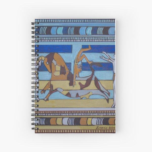Hexagram 26: Ta Ch'u (Controlled Power) Spiral Notebook