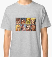 Street Fighter 2 Character Select Screen Classic T-Shirt