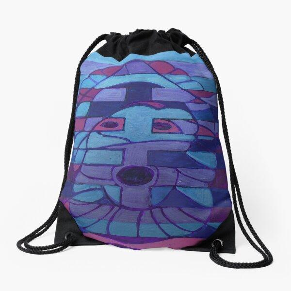 Hexagram 27: Yi (Nourishment) Drawstring Bag