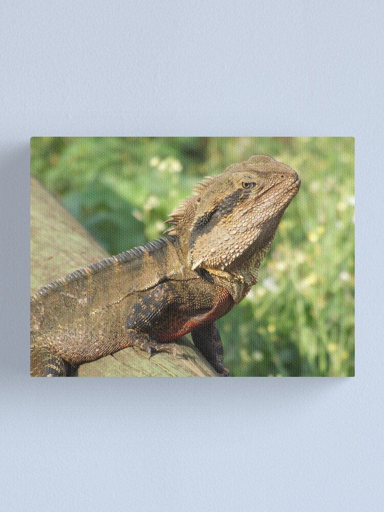 Alternate view of Water Dragon Canvas Print