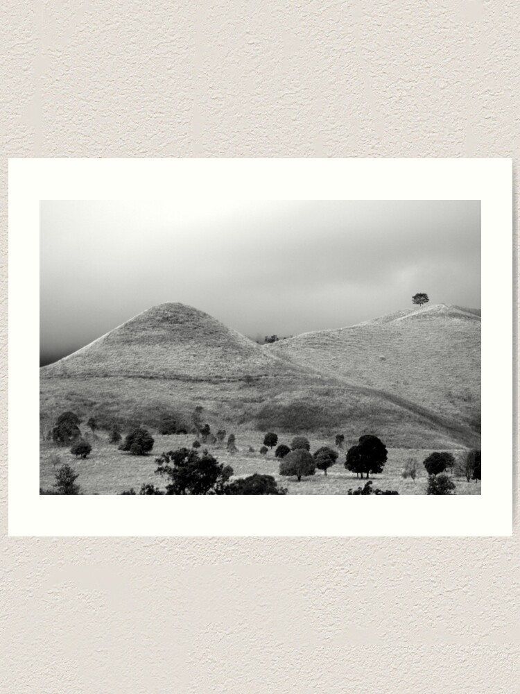 Alternate view of The Tree on the Hill Art Print