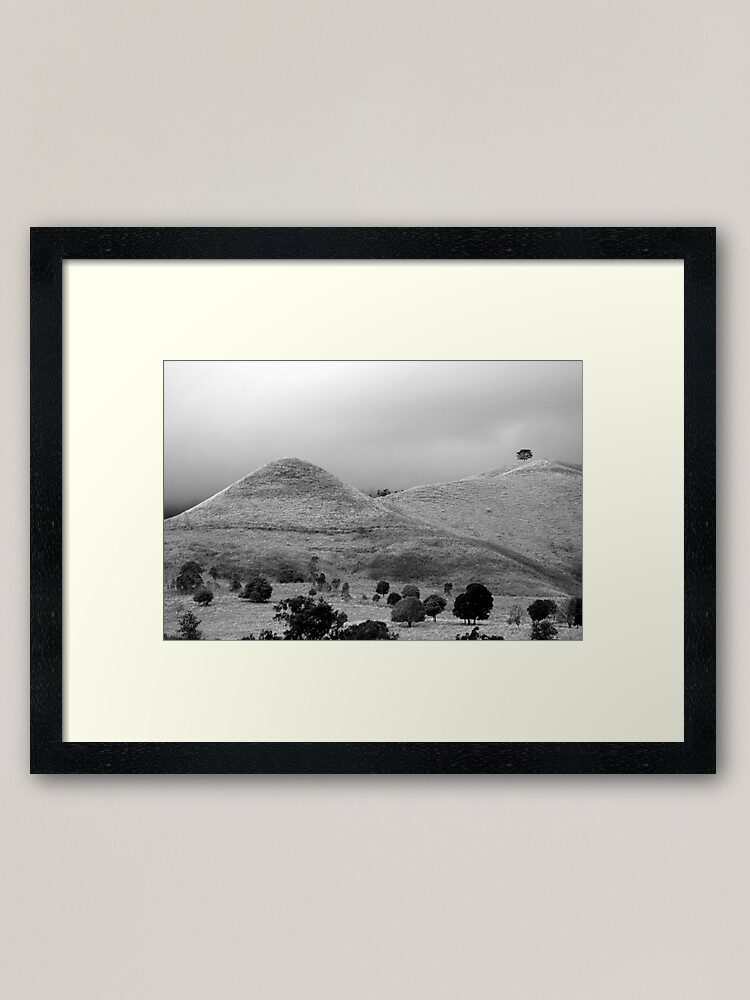 Alternate view of The Tree on the Hill Framed Art Print